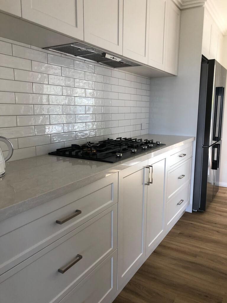 vinyl wrap kitchen doors perth